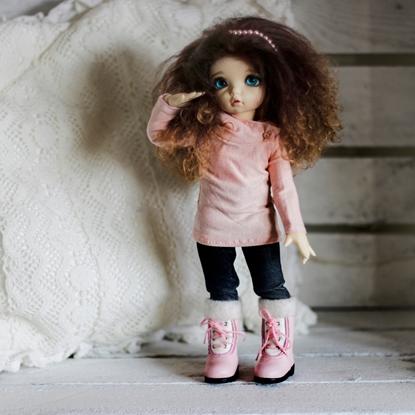 Afbeeldingen van Basic pink hoodie