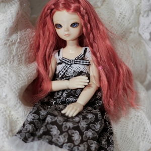 Afbeelding van Black butterfly dress