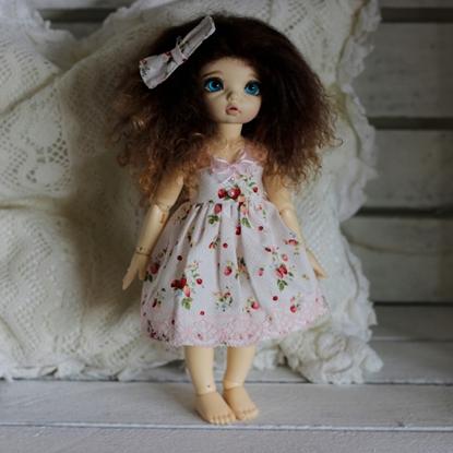 Afbeeldingen van Strawberry summer dress