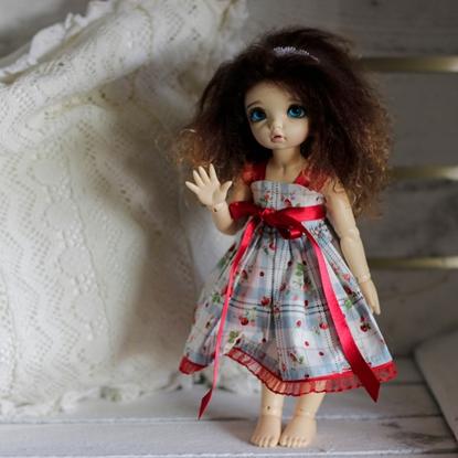 Afbeeldingen van Strawberry red dress