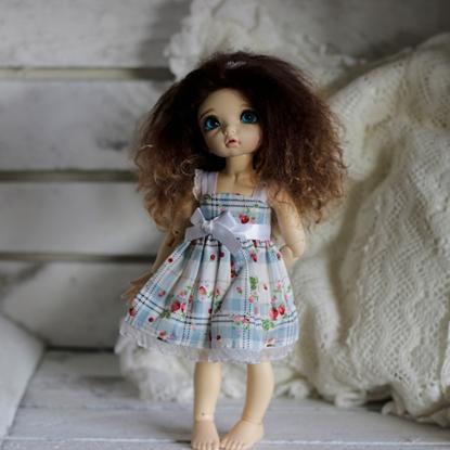 Afbeeldingen van Strawberry white dress
