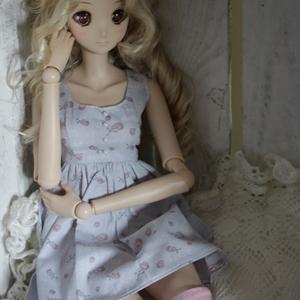 Afbeelding van Light purple rose dress