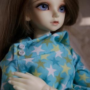 Afbeelding van Blue stars hoodie