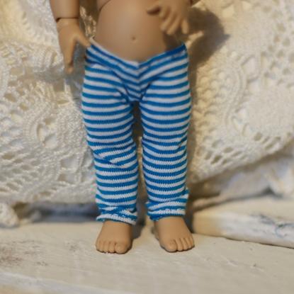 Afbeeldingen van Blue stripe legging
