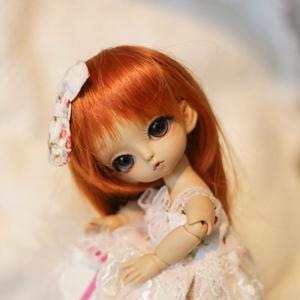 Afbeelding van White strawberry dress